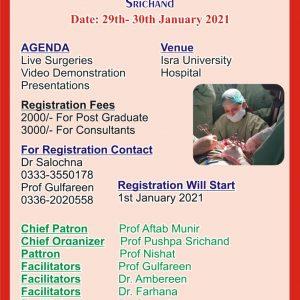 Workshop on Urogynaecological Surgeries